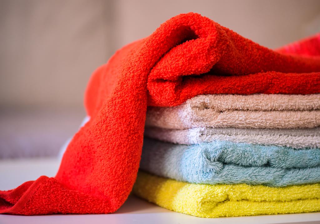 Lavare gli asciugamani